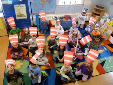 Enjoying our Cat In The Hat Hats