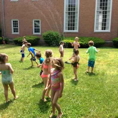 Sprinklers and water balloons